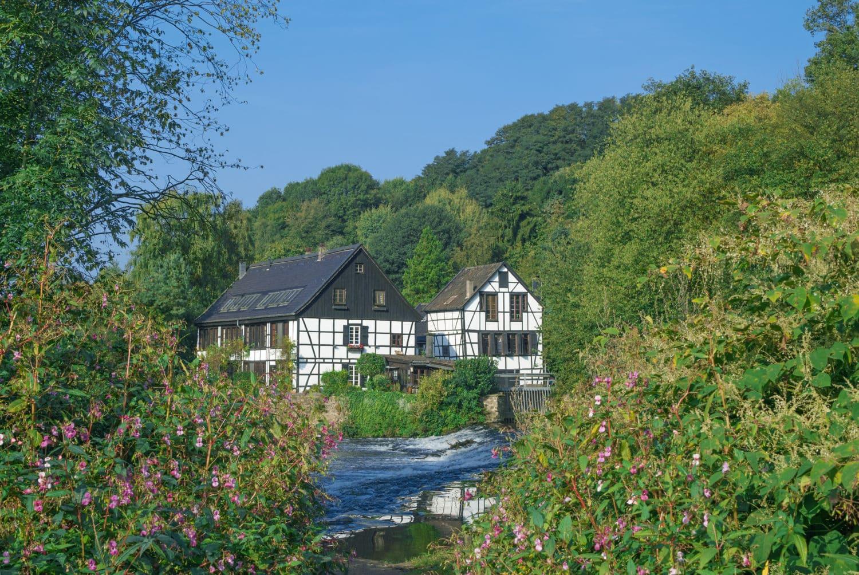 Het Bergische Land in de buurt van Solingen