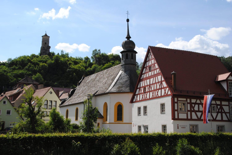 Waischenfeld, één van de pittoreske plaatsen onderweg