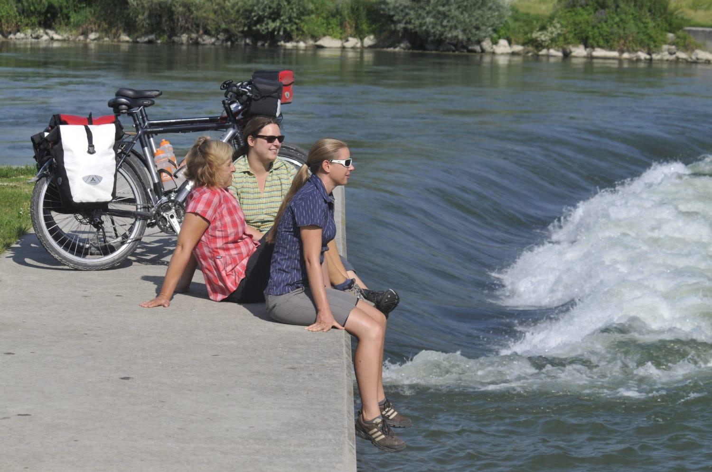 Finisch aan de Donau: Geschaft!