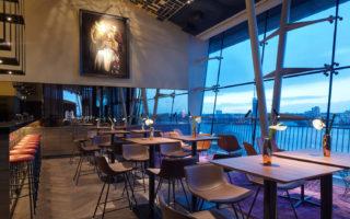 Restaurant Heritage met uitzicht over de Außenalster
