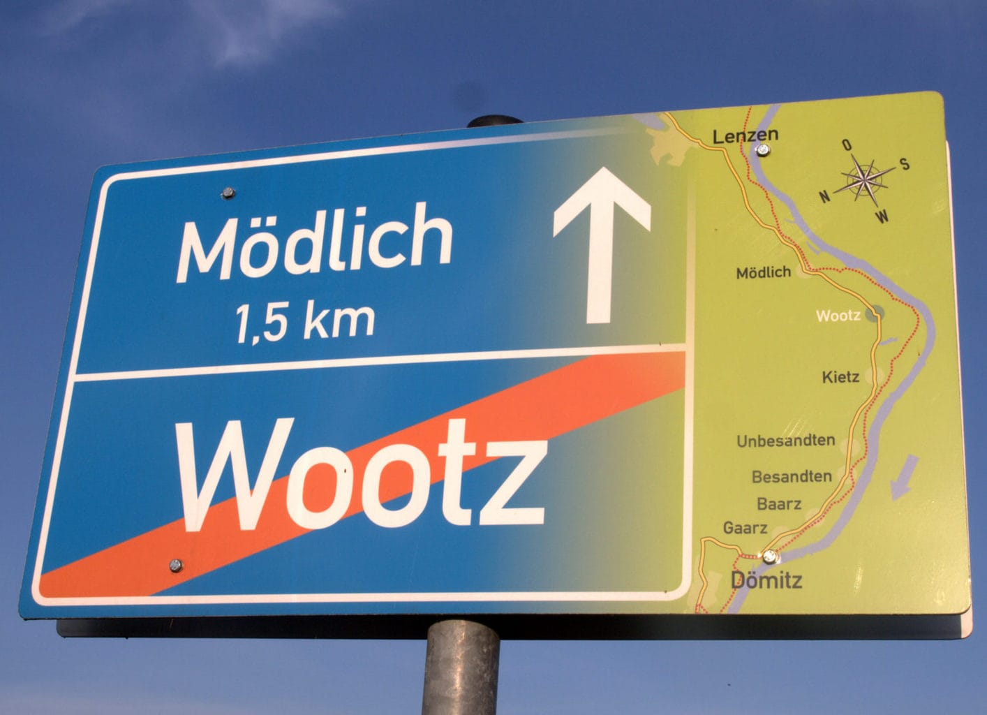 Op weg naar Mödlich