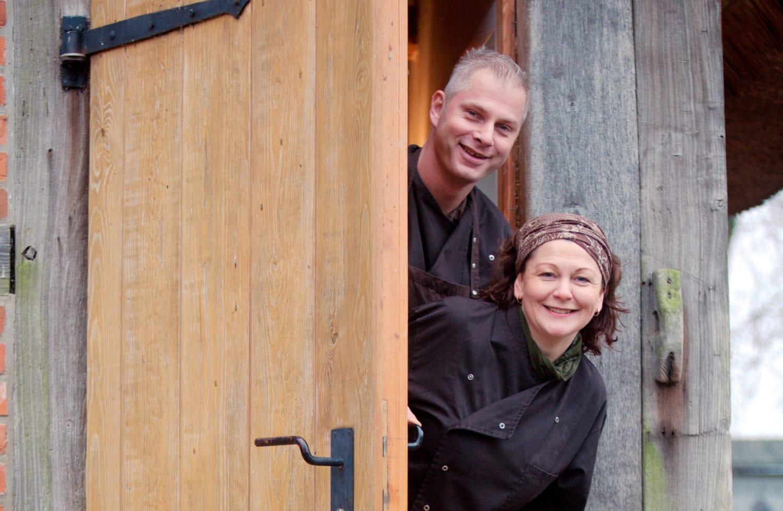 Dirk Wolters en Annett Senst van Alter Hof am Elbdeich