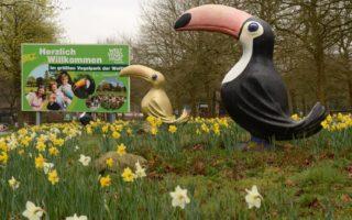 Dit is het Vogelpark Walsrode