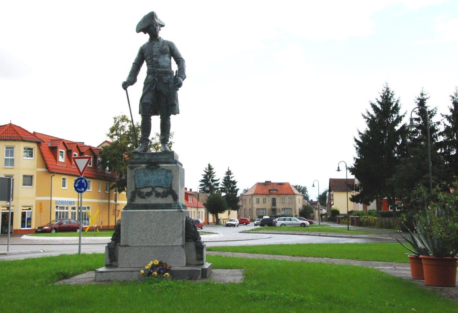 Friedrich II in Letschin