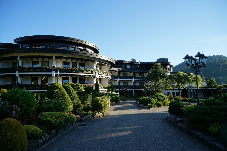 Hotel Bareiss met 3 Michelinsterren.