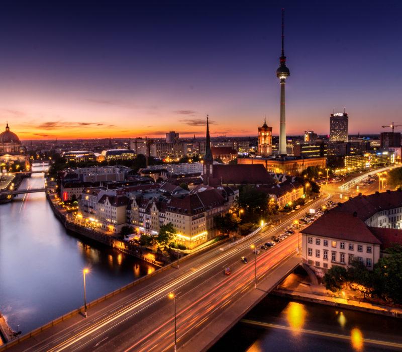 Eén van de superlatieven van Duitsland: Berlijn met de hoogste tv-toren