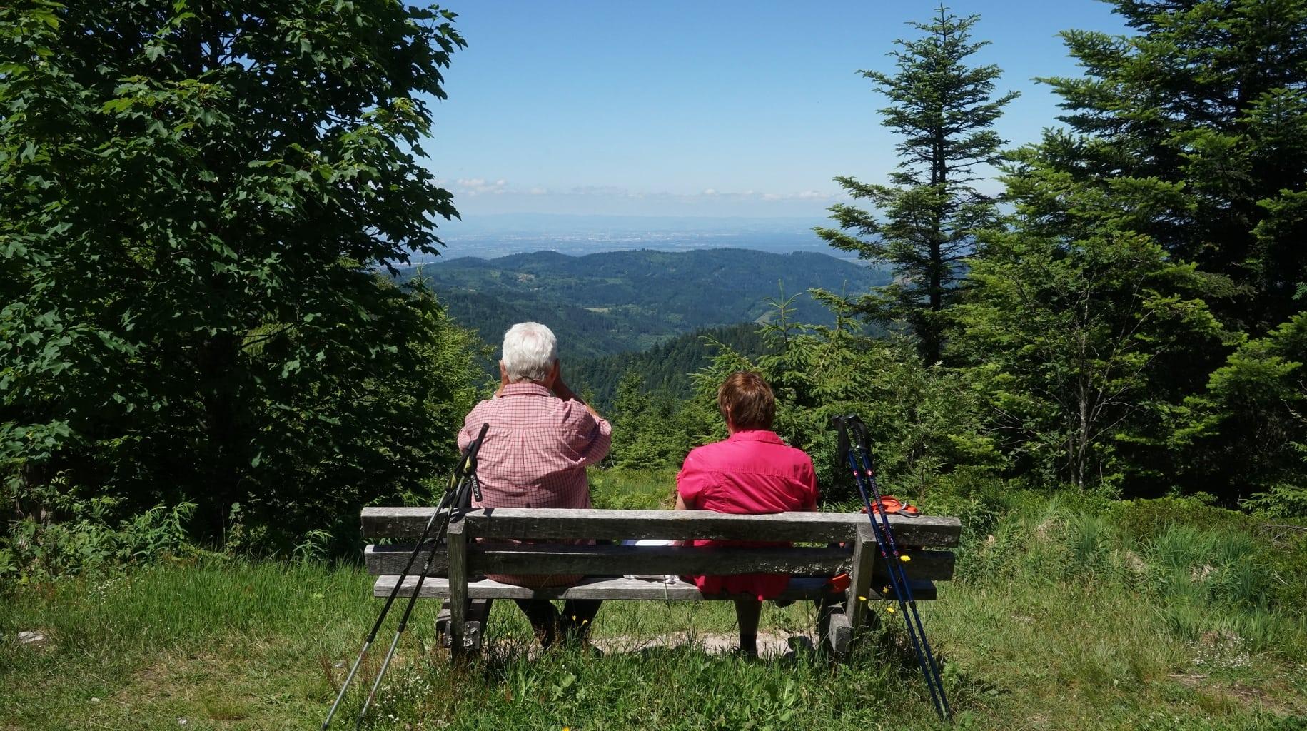 Rondom Baiersbronn is een 585 km lang wandelwegennetwerk