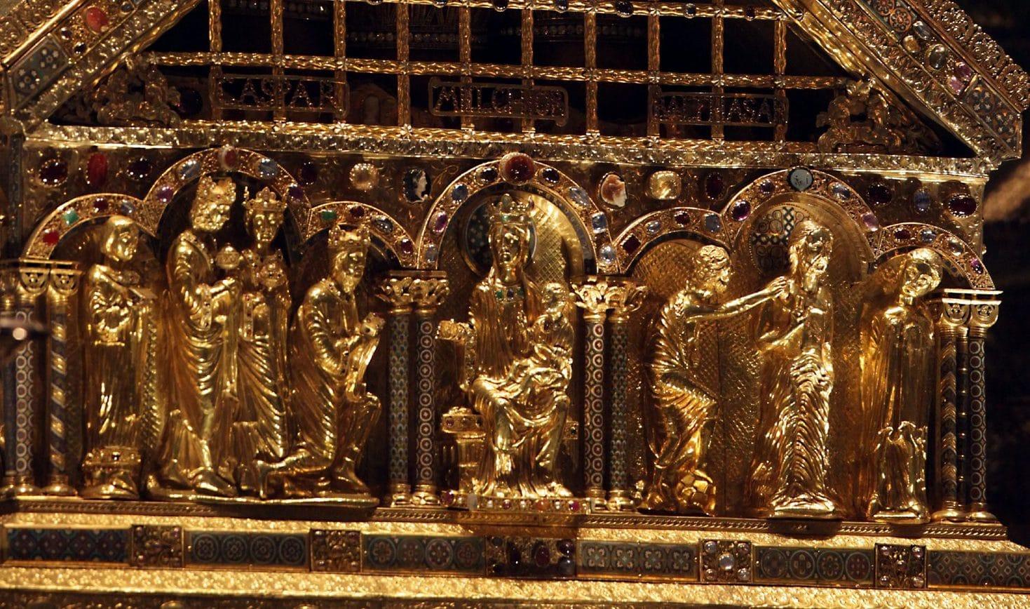 De Driekoningenschrijn in de Dom van Keulen