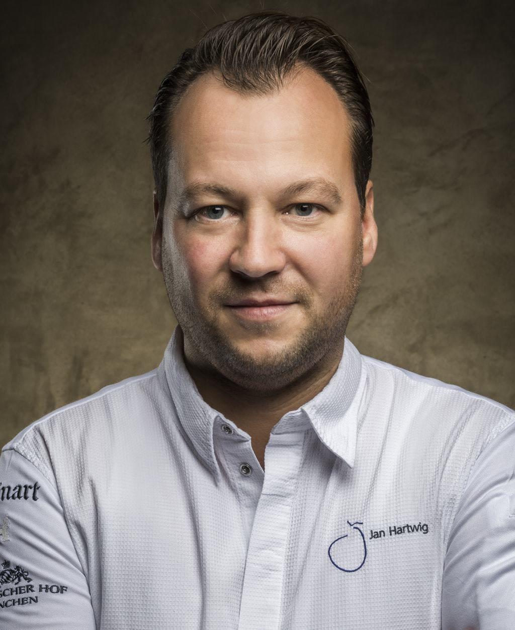 Chefkok Jan Hartwig van restaurant Atelier in Hotel Bayrischer Hof in München is een van de beste koks in Duitsland