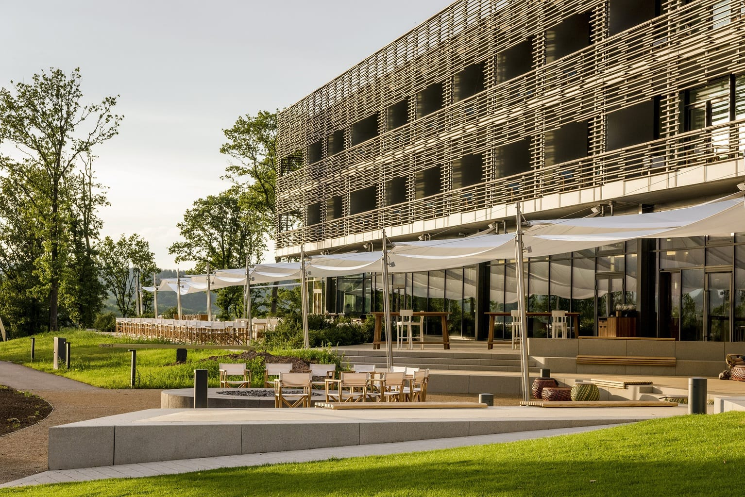 De Seezeitlodge in het Saarland behoort to de supercoole designhotels in Duitsland