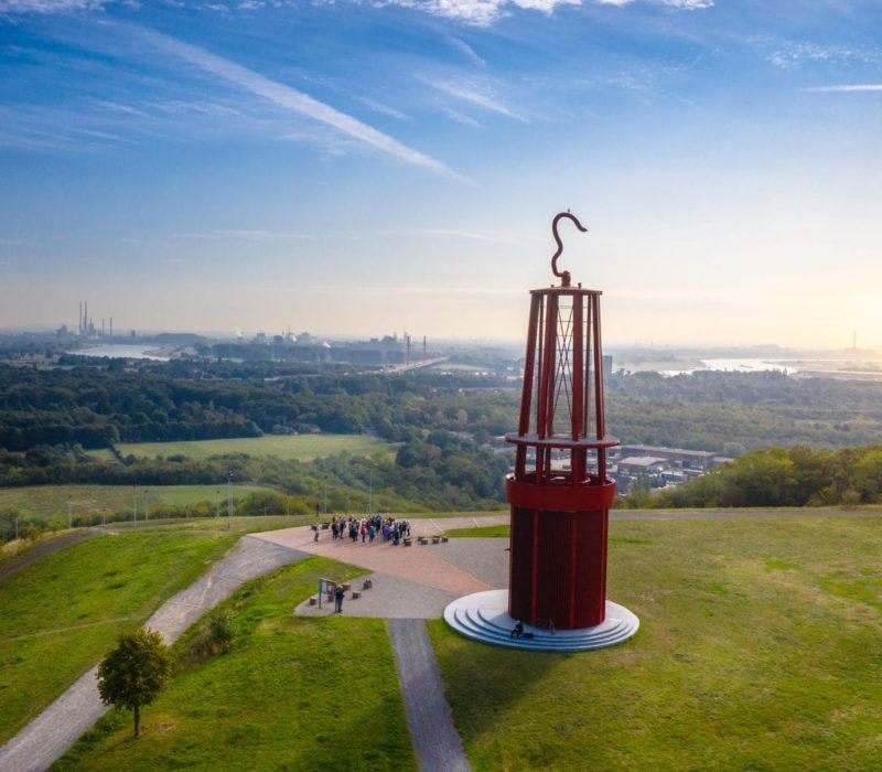 De halde Rheinpreußen in het Roergebied behoort tot de spannendste fotospots in Duitsland