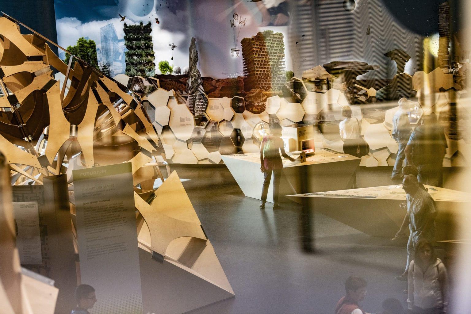Het futurium in Berlijn tijdens de opening in 2019