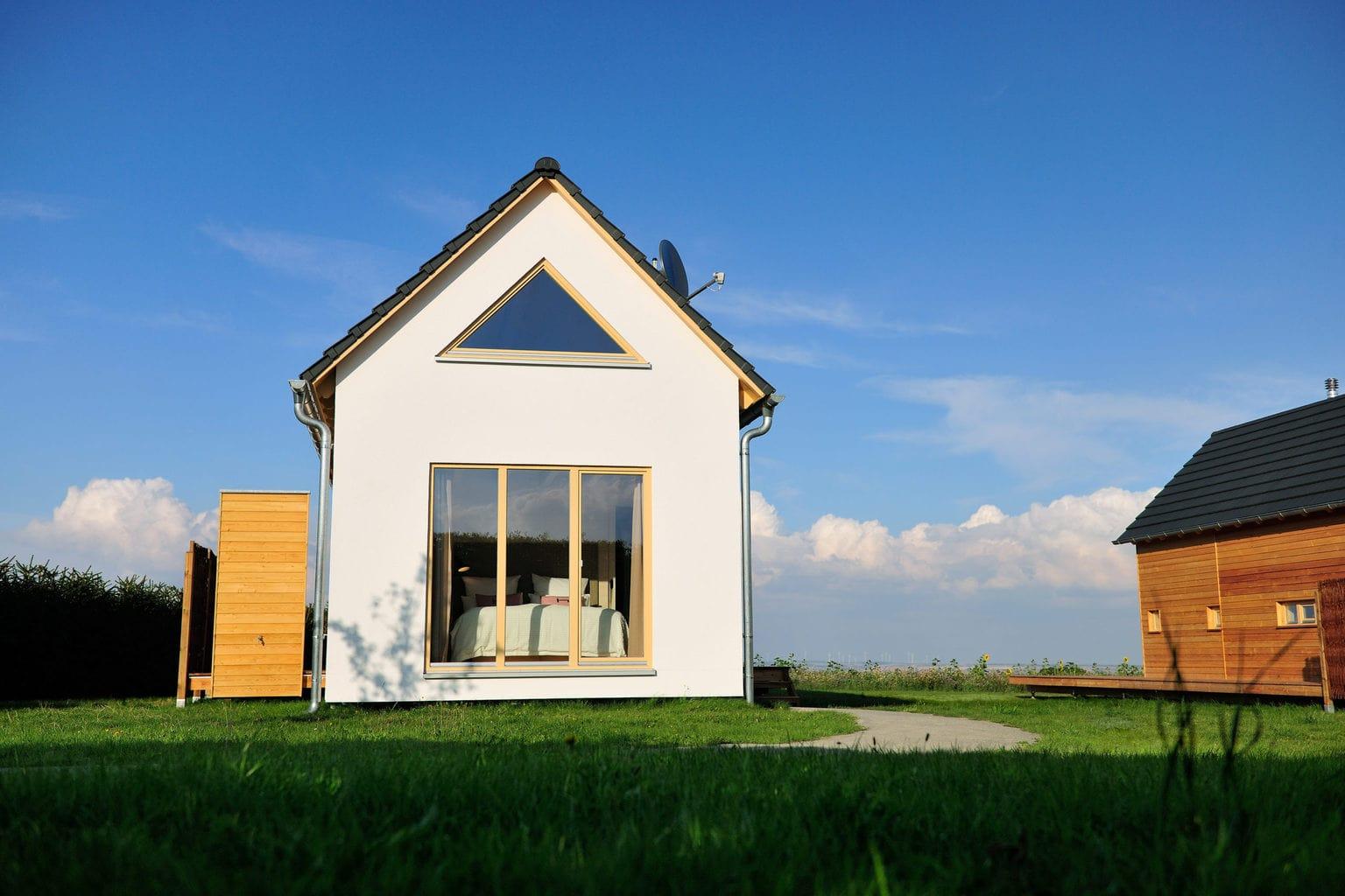 Natuurhuisje met uitzicht op een veld in Thüringen