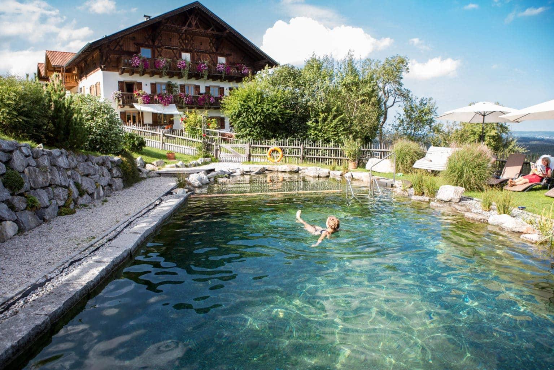 Hotel Bussjägerhof in Beieren met biozwembad
