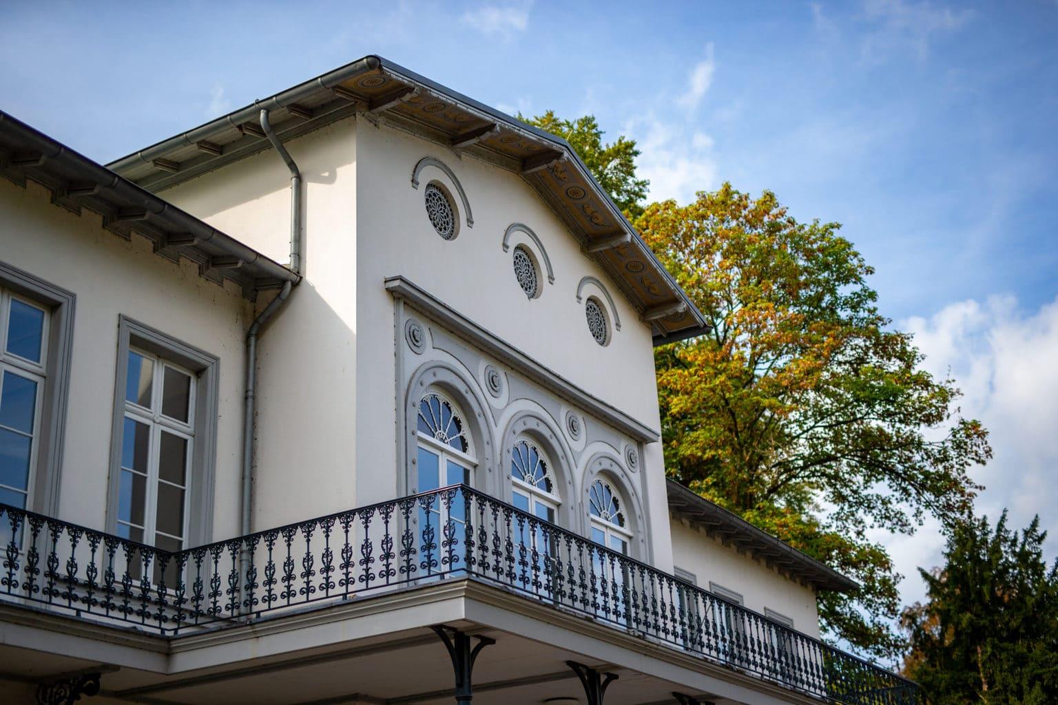 Museum Kurhaus in het Duitse stadje Kleef, waar Joseph Beuys opgegroeid is