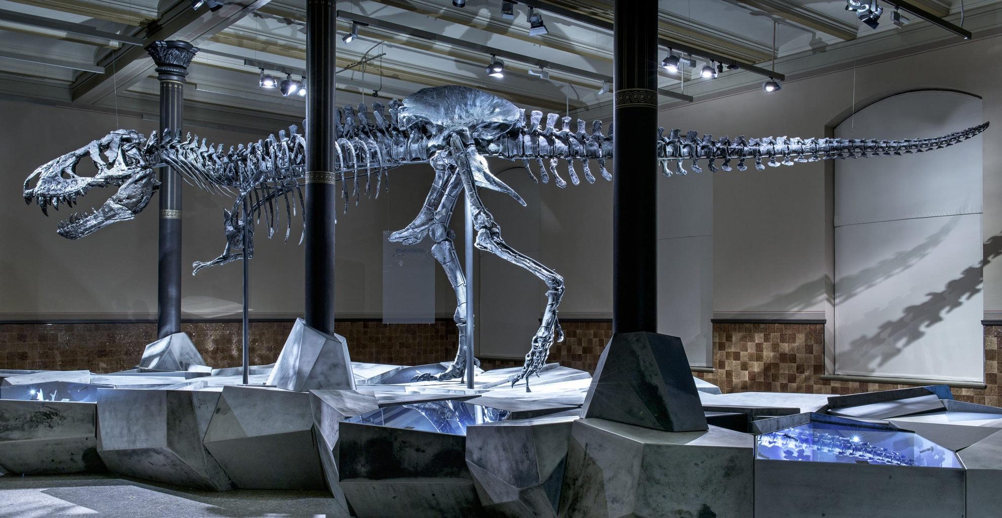 Tristan is een van de grootste dinosaurussen in Duitsland