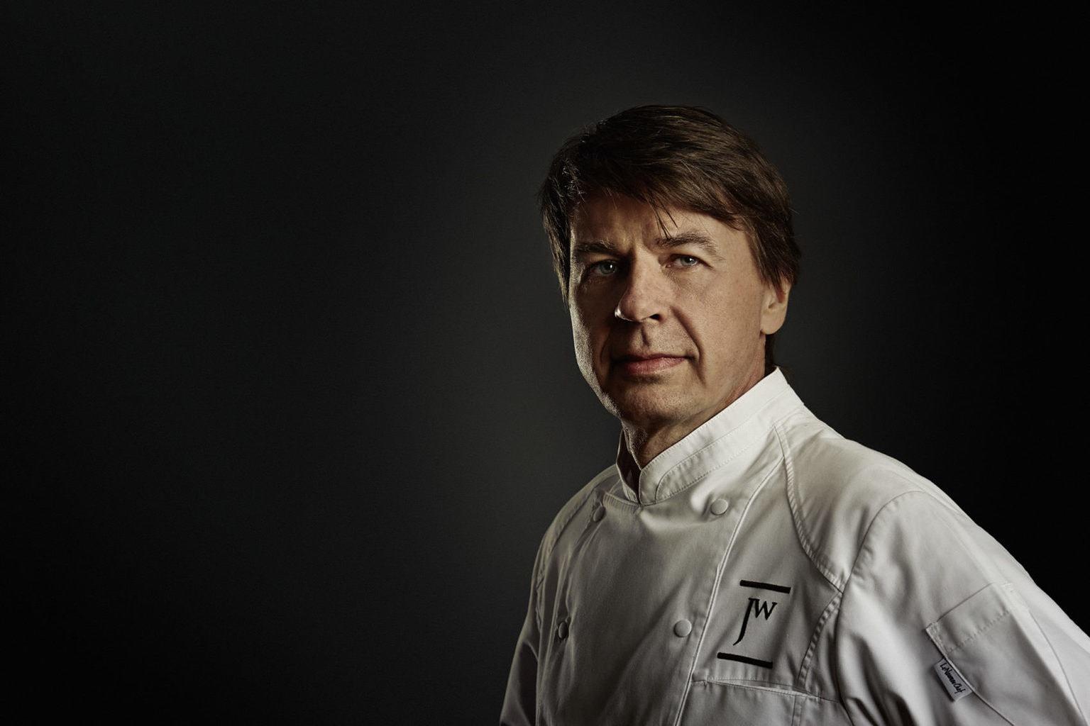 Chefkok Joachim Wissler heeft drie michelin-sterren en behoort dus tot de beste koks in Duitsland