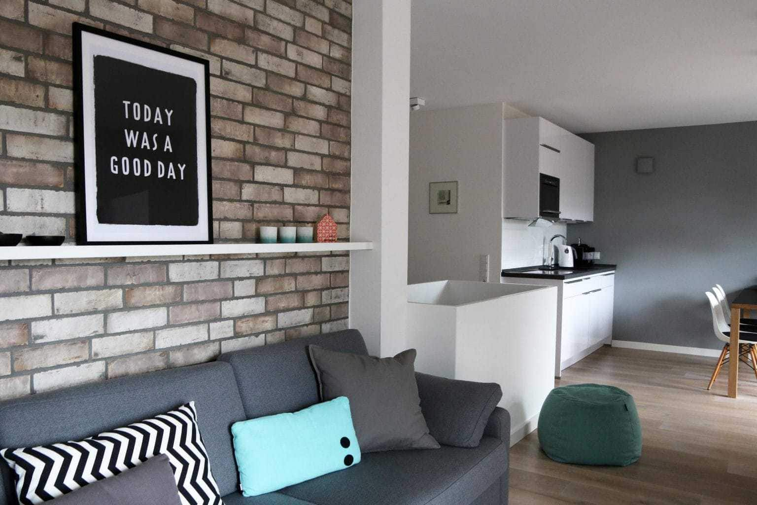Een vakantiewoning op Sylt met gezellige kamer en keuken