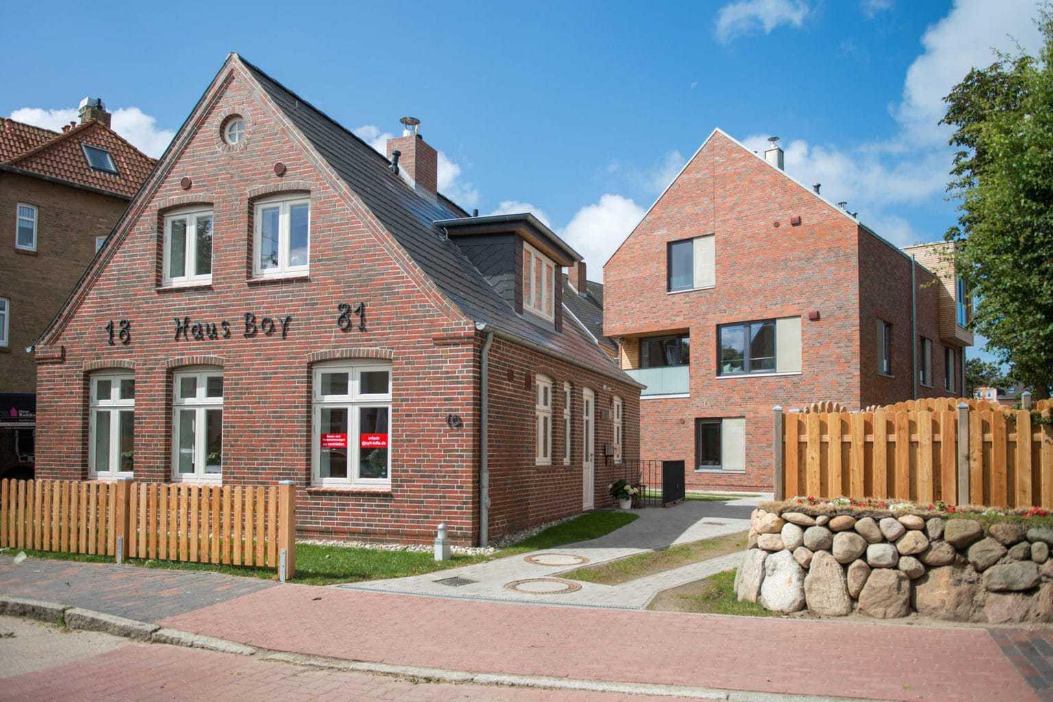 Loft's op Sylt zoals Haus Boy zijn in dee wintermaanden best wel te betalen