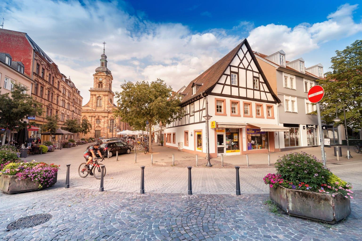 Saarbrücken is de leuke hoofdstad van het Saarland met