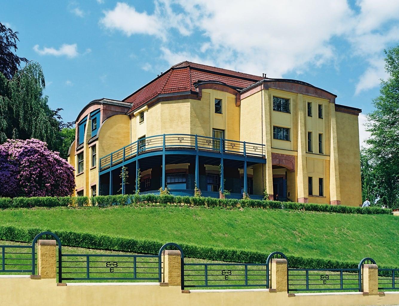 De Villa Esche in de stad Chemnitz is een van de tien toppers in Saksen