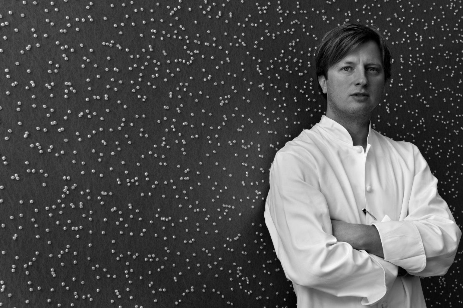 Kevin Fehling van sterrenrestaurant The Table in Hamburg is een van de beste koks in Duitsland