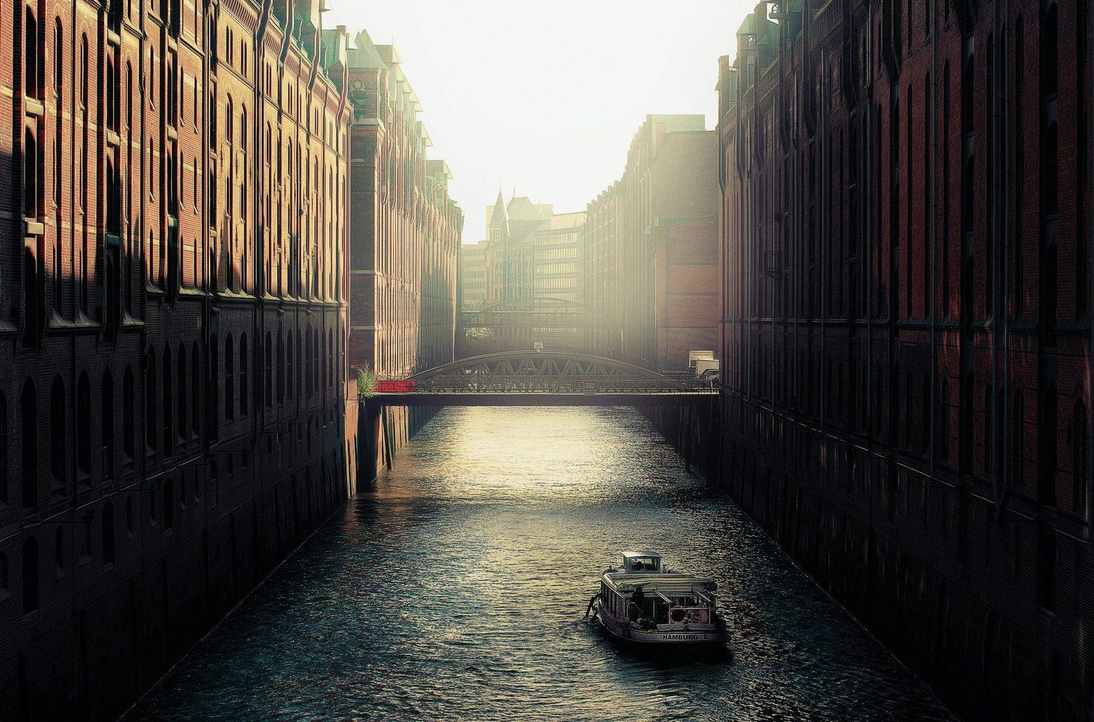 Een van de mooiste fotospots in Duitsland is de Speicherstadt in Hamburg