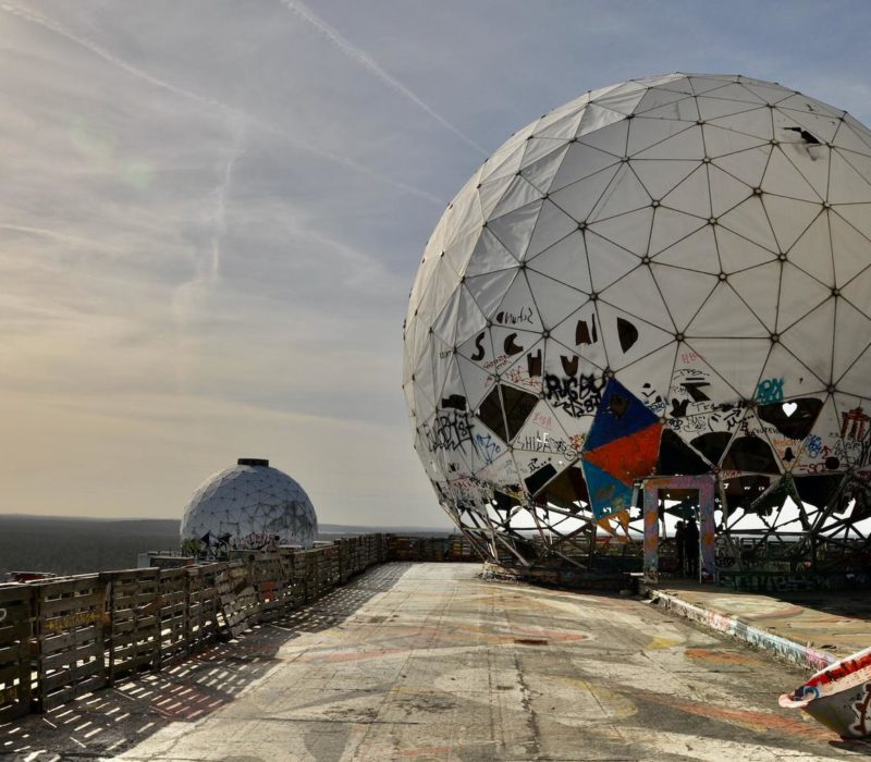 Ook het radarstation op de Teufelsberg in Berlijn is een last place