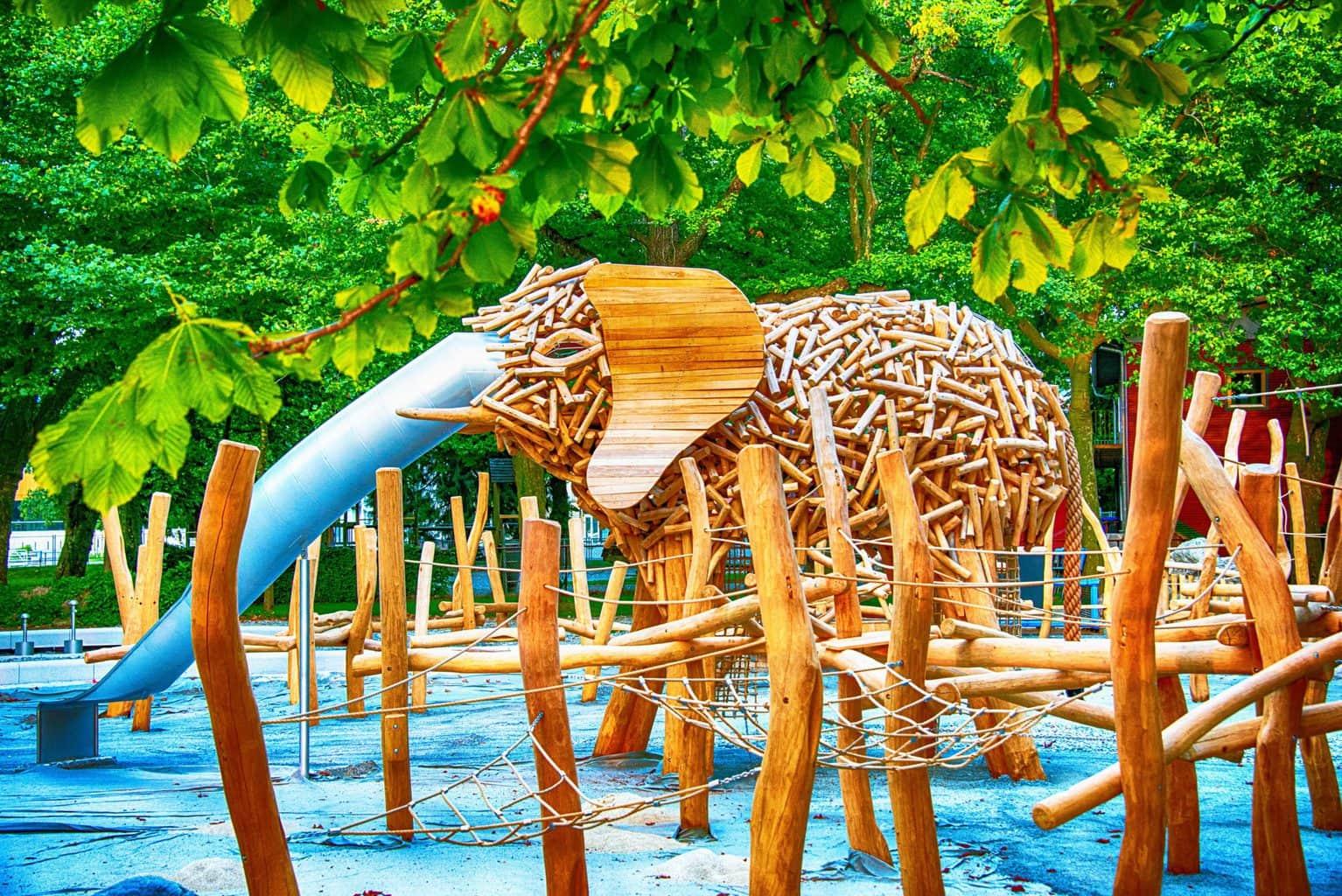 Kunstwerk van Sina Kinkelin op de Landesgartenschau in Lindau an de Bodensee