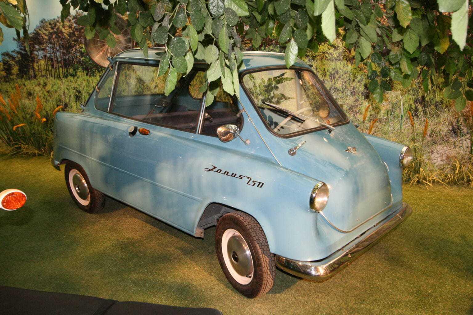 Een Zanus in het automobielmuseum in Einbeck