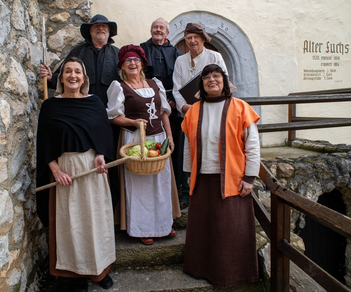 Barokke rondleidung in het stadje Mengen in Baden-Wuerttemberg