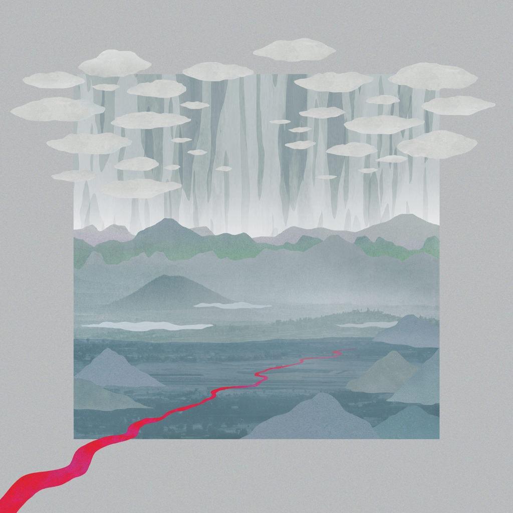 """Cover van het album """"Was passiert ist"""" van de Hamburgse band Die Heitekeit"""