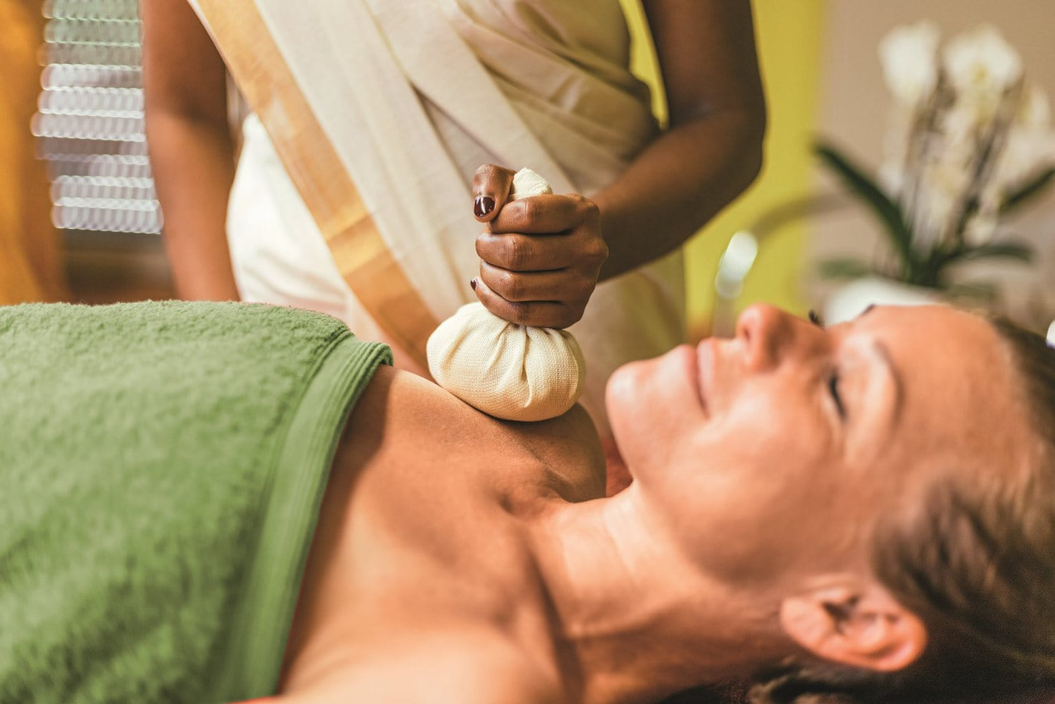 Ayurveda behandeling in Hotel Fontana in Bad Kissingen