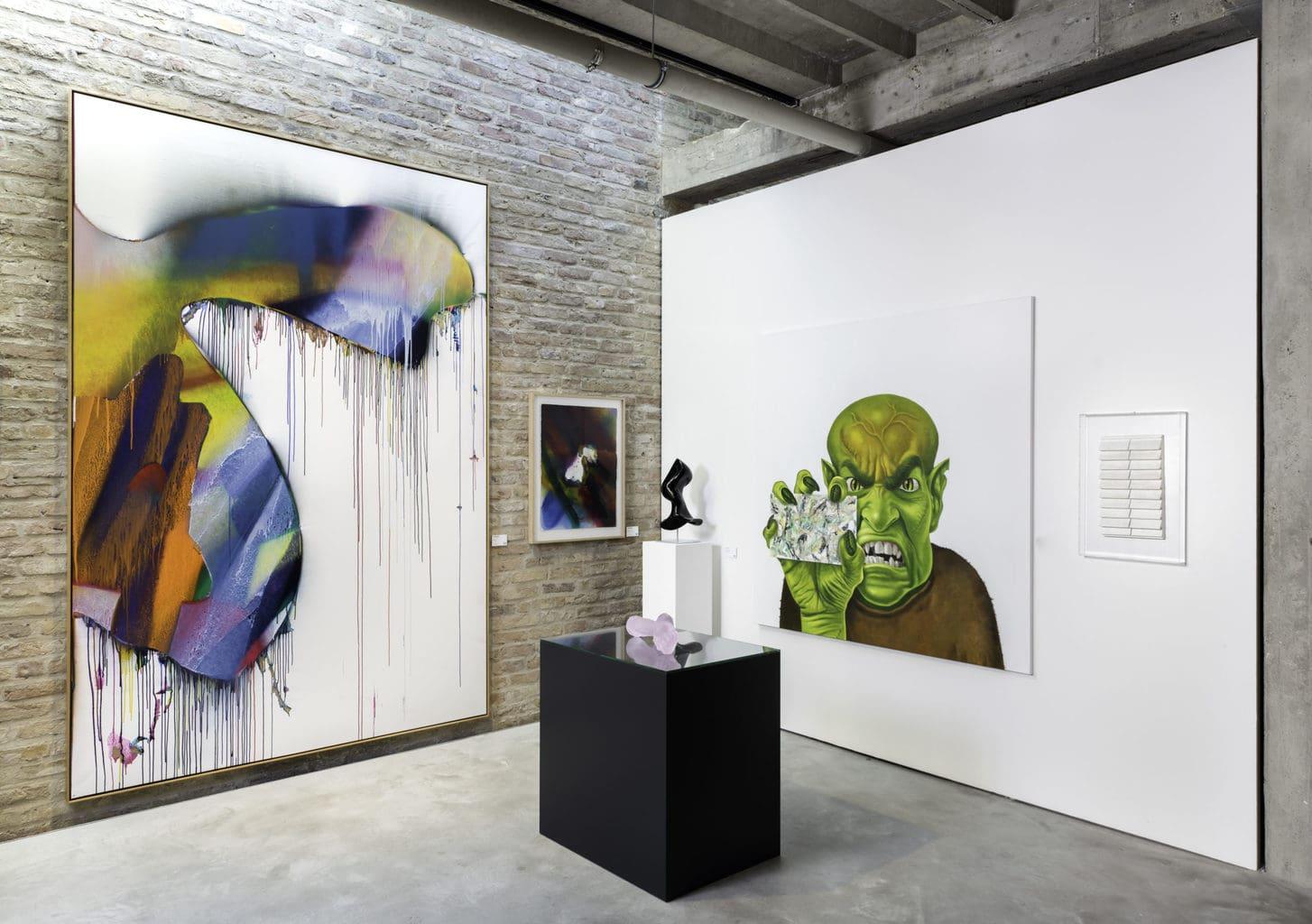 Galerie Koenig tentoonstelling Sankt Agnes