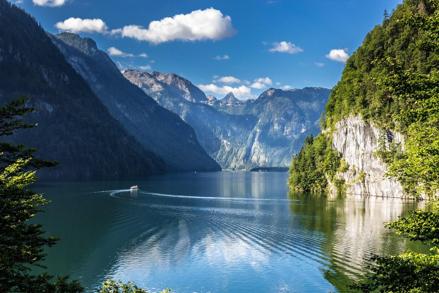Het Nationaalpark Berchtesgadener Land met meer
