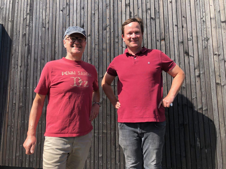 Wijnmakers Paul en Sebastian Fürst