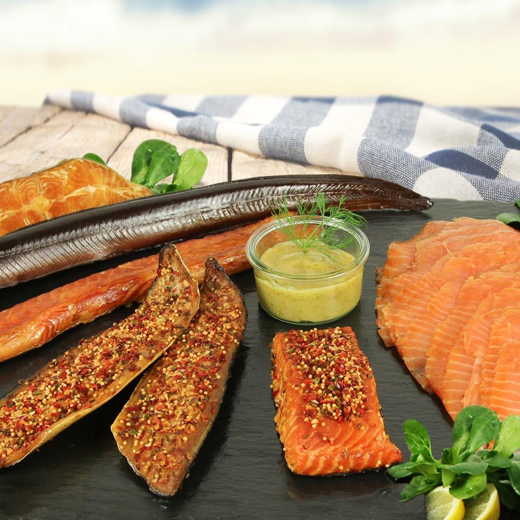 Zalm en paling behoren tot de specialiteiten van de Duitse Noordzee