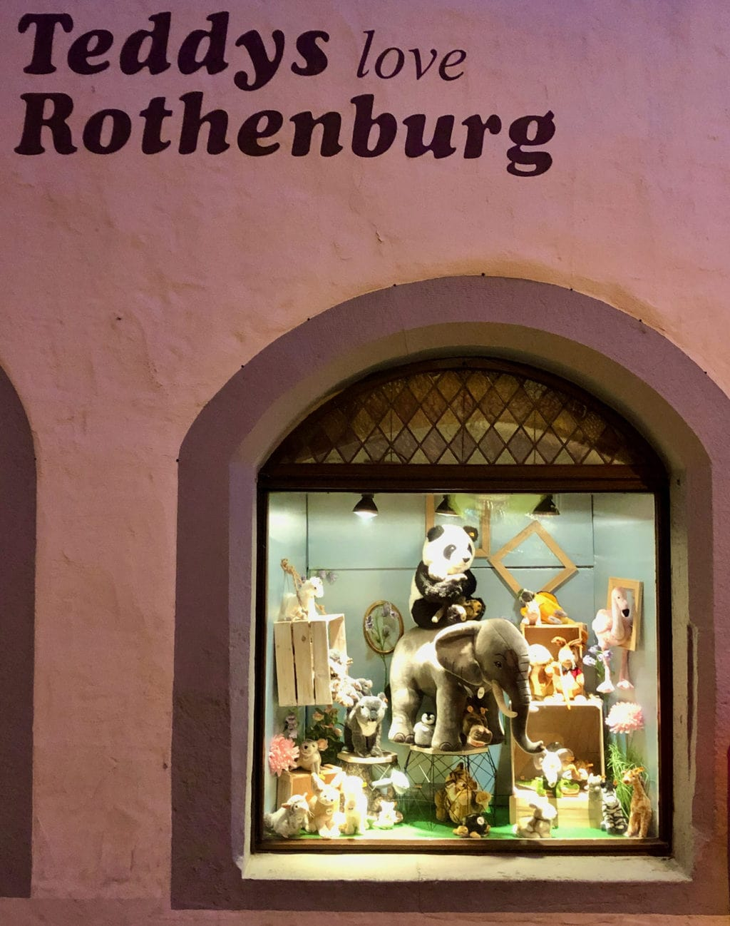 Ook Teddy's houden van Rothenburg ob der Tauber