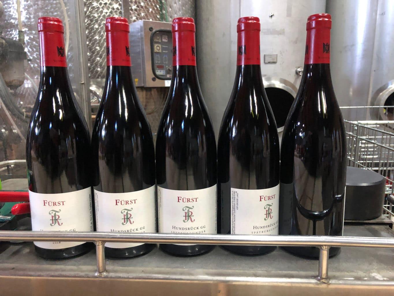 De Lagenweine van wijnmakerei Fürst in Bürgstadt zijn fel begeerd