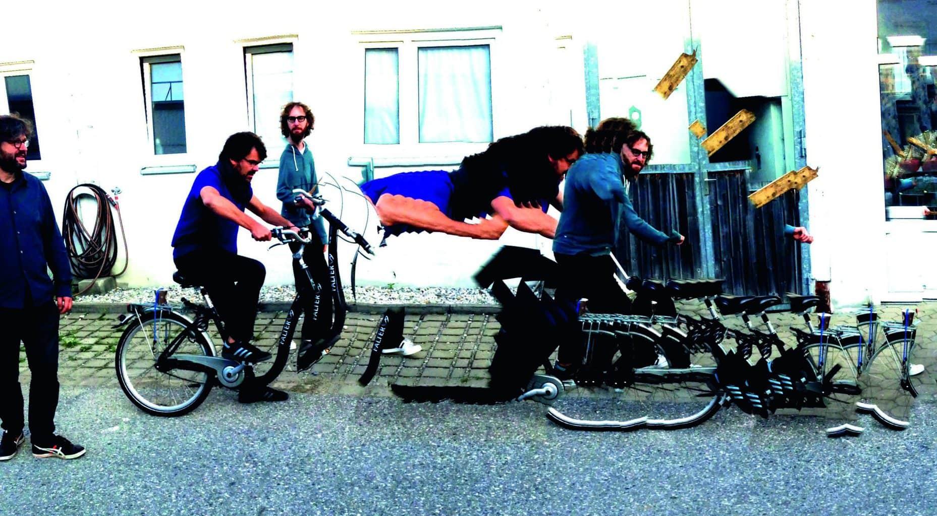 The Notwist uit Weilheim is een Duitse band op het Amerikaanse label Subpop