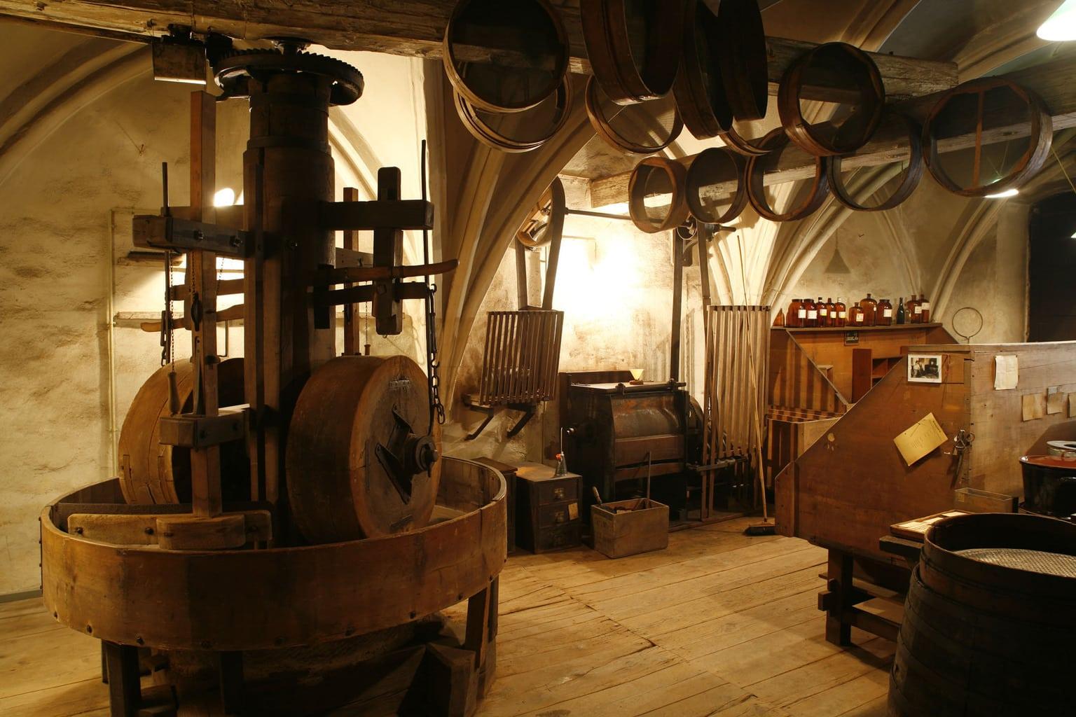 Het Zanthaus in Regensburg is een voormalig fabriek voor snuiftabak