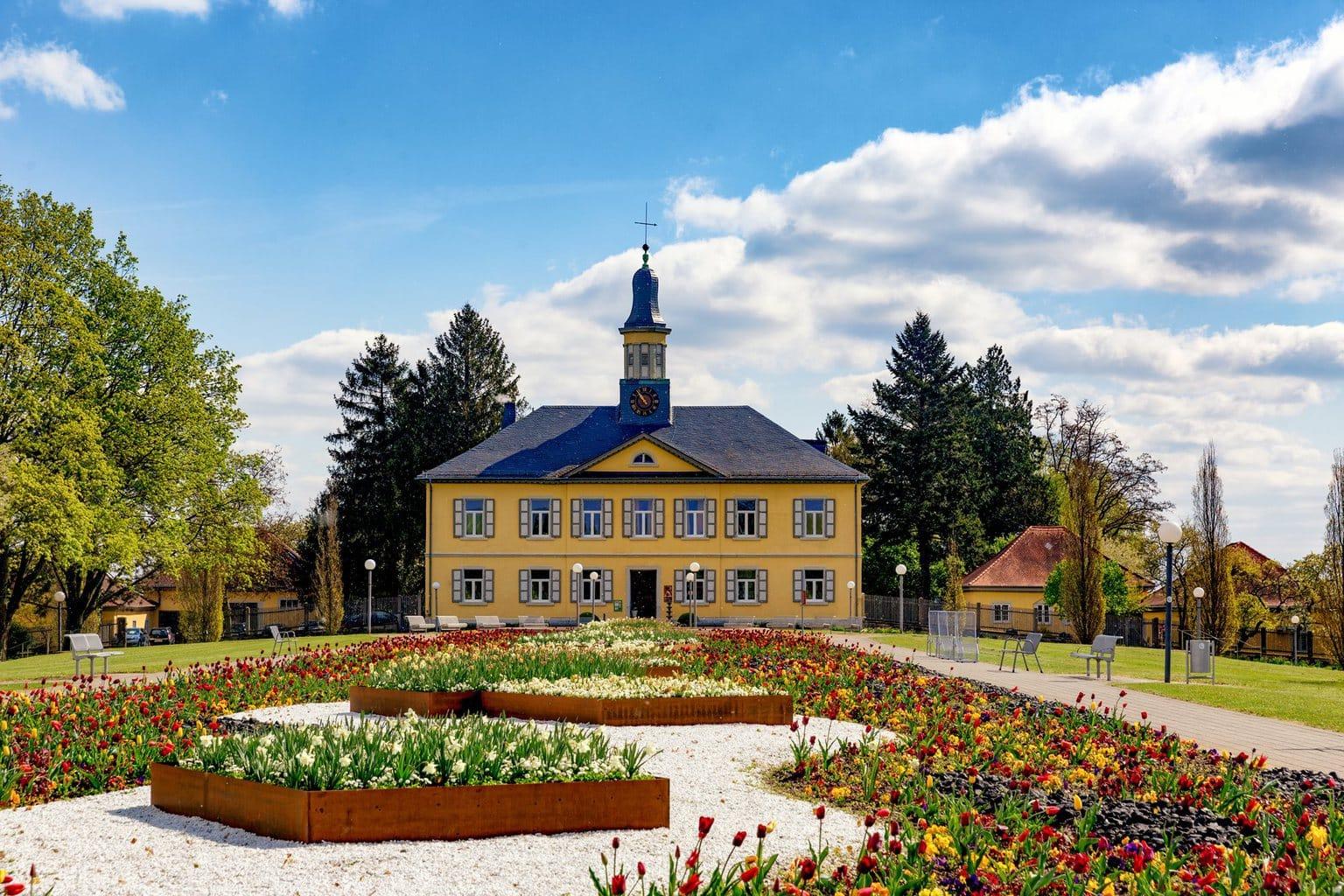 Het hotel resort Ayurveda Garden is ondergebracht in een prachtige buitenplaats in Bad Rappenau