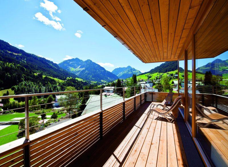 Suites met uitzicht op de Allgaeu