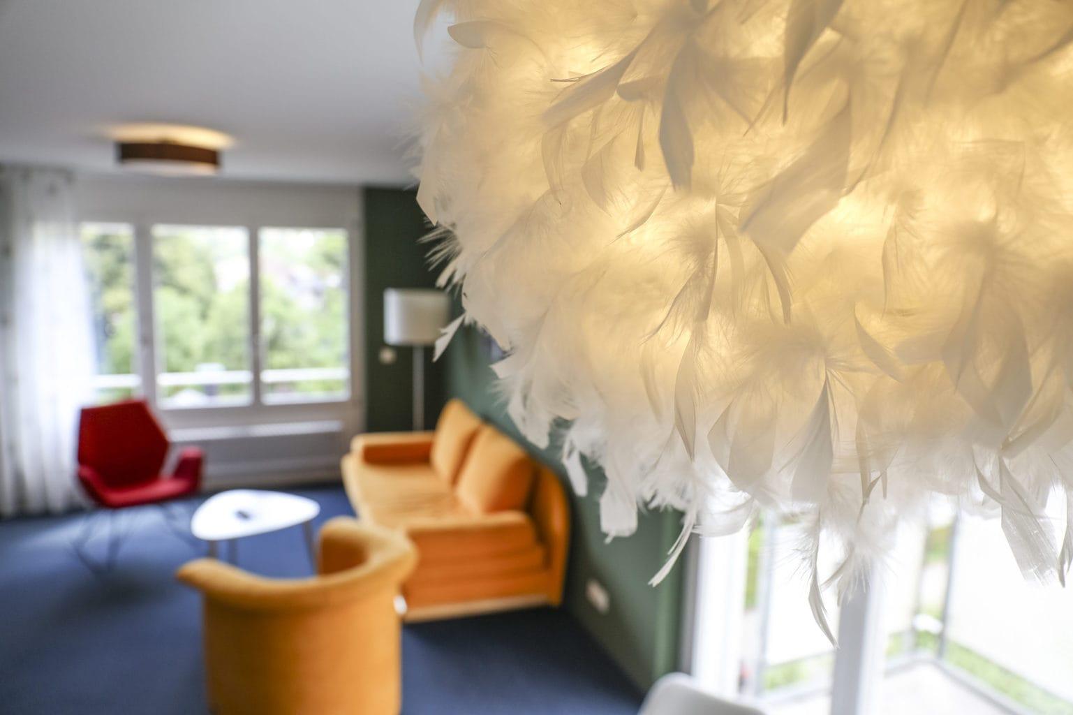 Strakke inrichting kenmerken de kamers van Hotel Schwarzwald Panorama