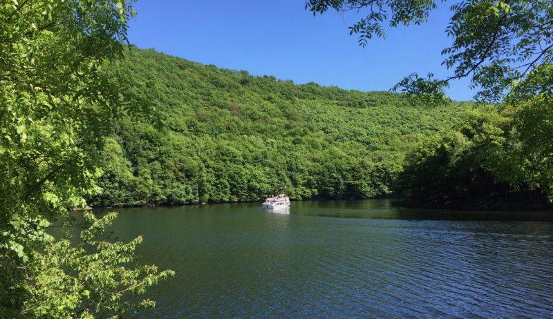 Het stuwmeer met als bron de rivier Urft wordt ook wel Eifel-Amazonas genoemd