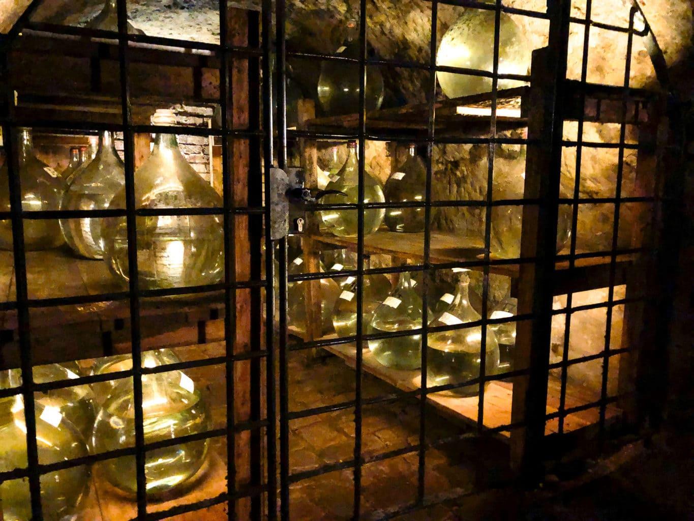 Een schatkamer in de rotskelders van Neurenberg