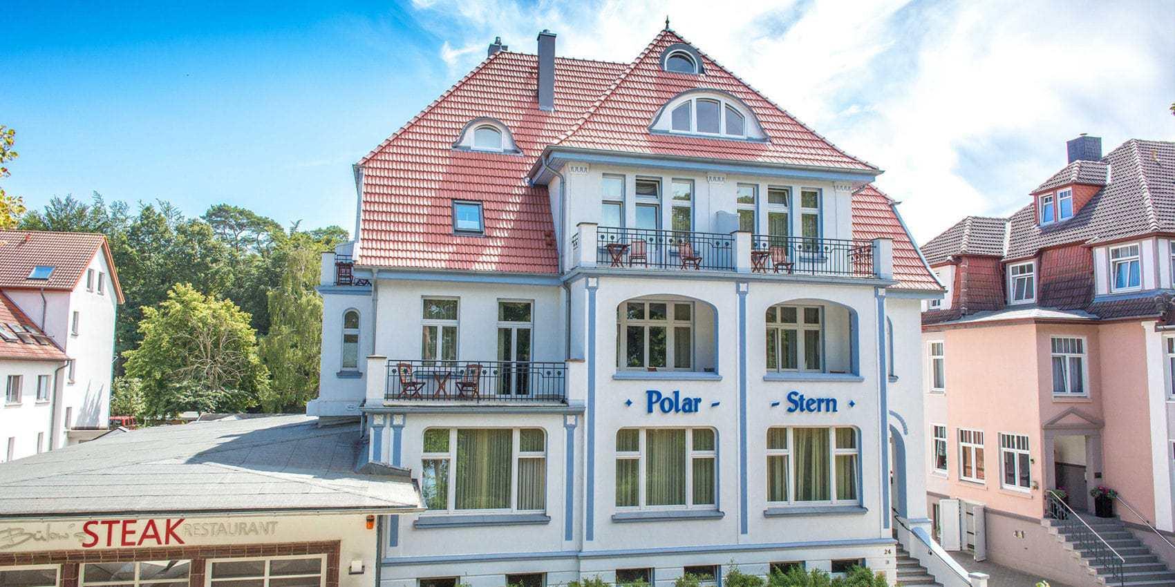 Hotel Polarstern in de badplaats Kühlungsborn in Duitsland