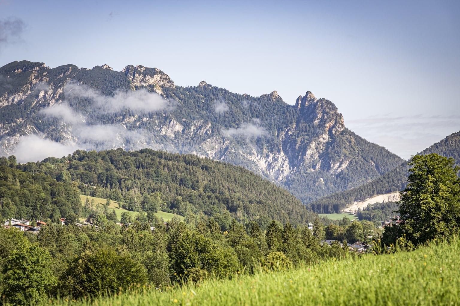 Berg Hexe in het Berchtesgadener Land is toneel voor Halloween
