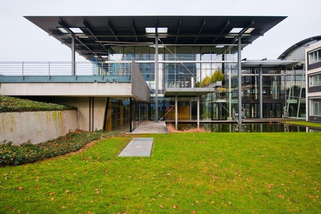 De oude Plenarzaal in Bonn