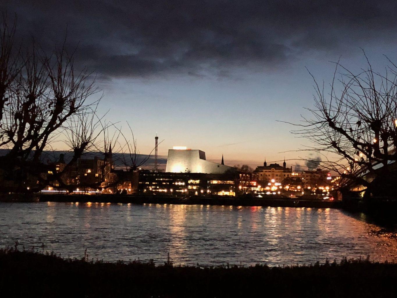 De opera en de Rijn in Bonn